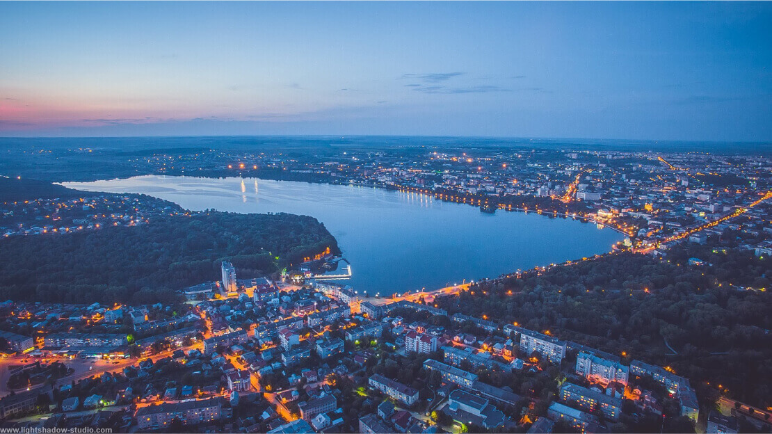 Ternopil city